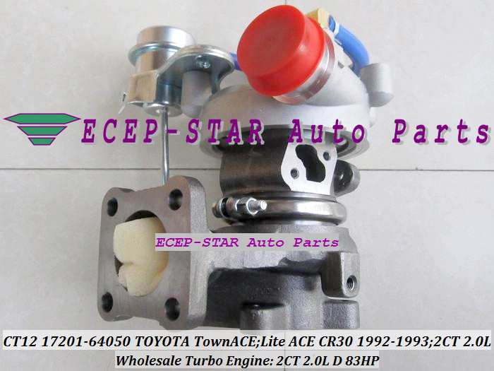 CT12 17201-64050 17201 64050 17201-64040 Turbocompresseur 17201-64020 - Pièces auto - Photo 5