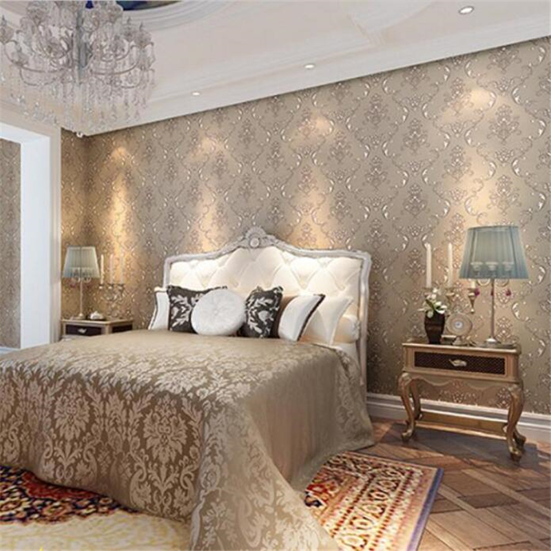 ФОТО Beibehang Free Shipping American Pastoral Plain wallpaper papel de parede Wallpaper Bedroom Living Room TV Background Wallpaper