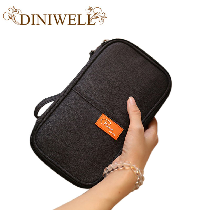 Women's Travel Storage Bag Passport Wallet Credit Card Ticket Holder Passport Men's Fashion Multi Pocket Card Holder Gift temena travel passport cover wallet travelus waterproof credit card package id holder storage organizer clutch money bag aph113
