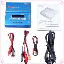 2 pcs/lot 100% Original SKYRC IMAX B6AC Charger 50W Lipo Battery Balance RC Discharger Helicopter Quadcopter With Power Adapter