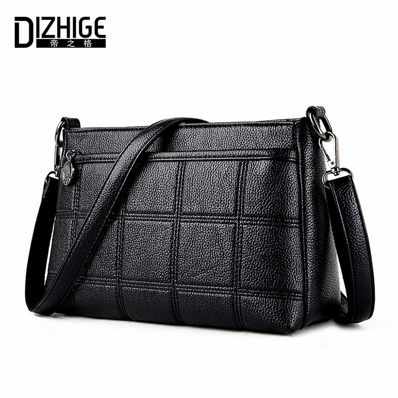 DIZHIGE Brand 2017 Fashion Small Shoulder Bags PU Leather Bags Women Spring Summer Women Handbags Simple Flap Ladies Hand Bags dizhige brand 2017 fashion thread crossbody bags plaid pu leather bags women handbags designer shoulder bags ladies sac spring