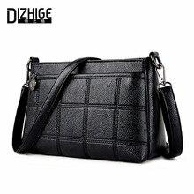 Dizhige marke 2017 mode kleine umhängetaschen pu-ledertaschen frauen frühling sommer frauen handtaschen einfache klappe damen handtaschen