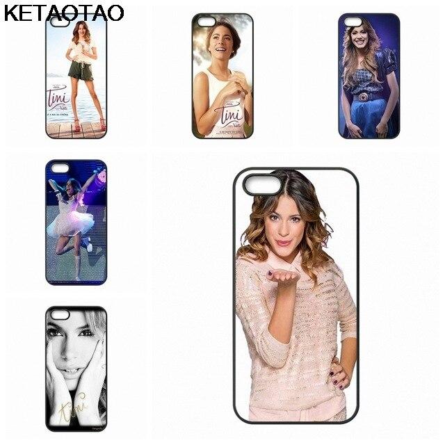 KETAOTAO Martina Stoessel Violetta Coque Phone Cases for iPhone 4S SE 5 6 5C 5S 6S