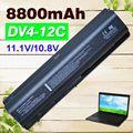 8800 mah bateria do portátil para hp pavilion dv4 dv5 dv6 dv6t g50 g61 compaq presario cq40 cq41 cq45 cq50 cq60 cq61 cq70 cq71