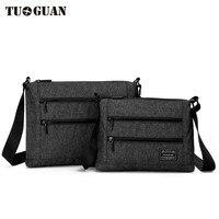 TUGUAN Men Bag 2017 Fashion Men Shoulder Bags High Quality Canvas Casual Messenger Bag Business Men