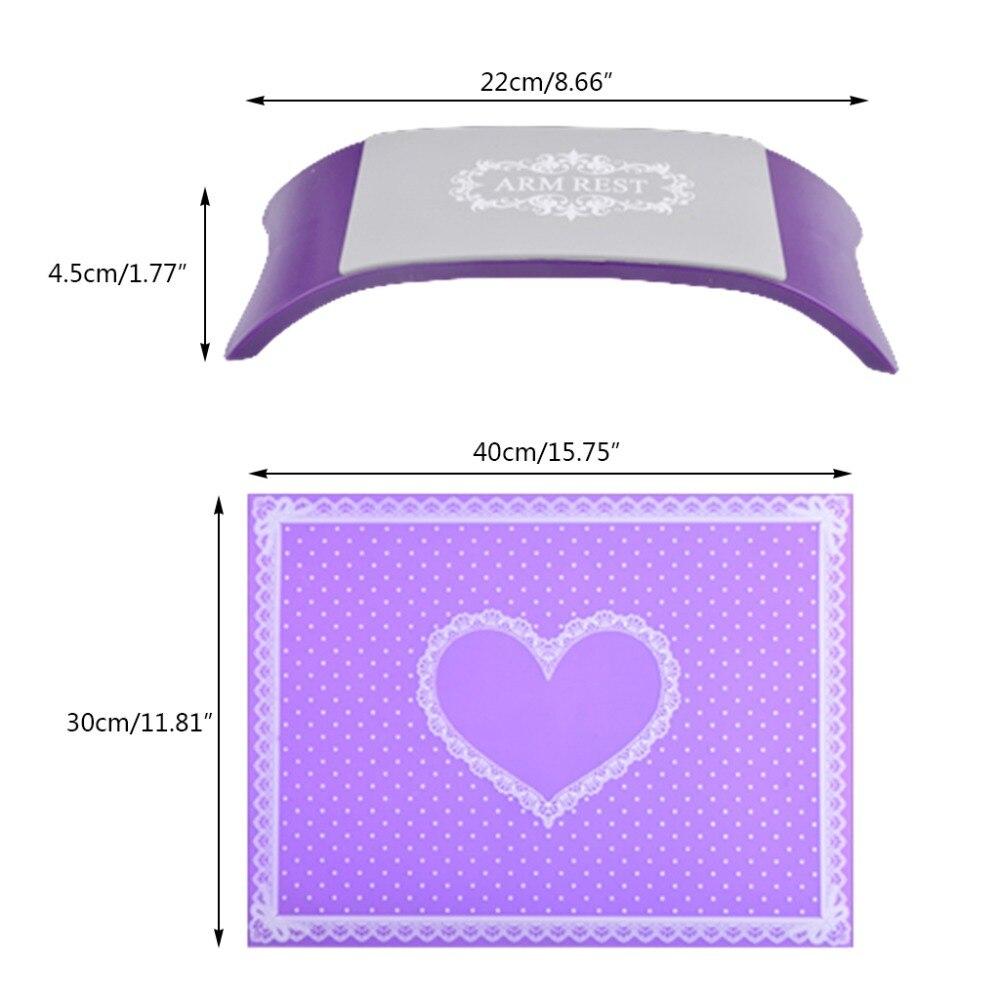 Silikon Kissen Kissen Handgelenk Pad Nail Art Arm Rest Maniküre Tisch Hand Halter Werkzeuge & Zubehör