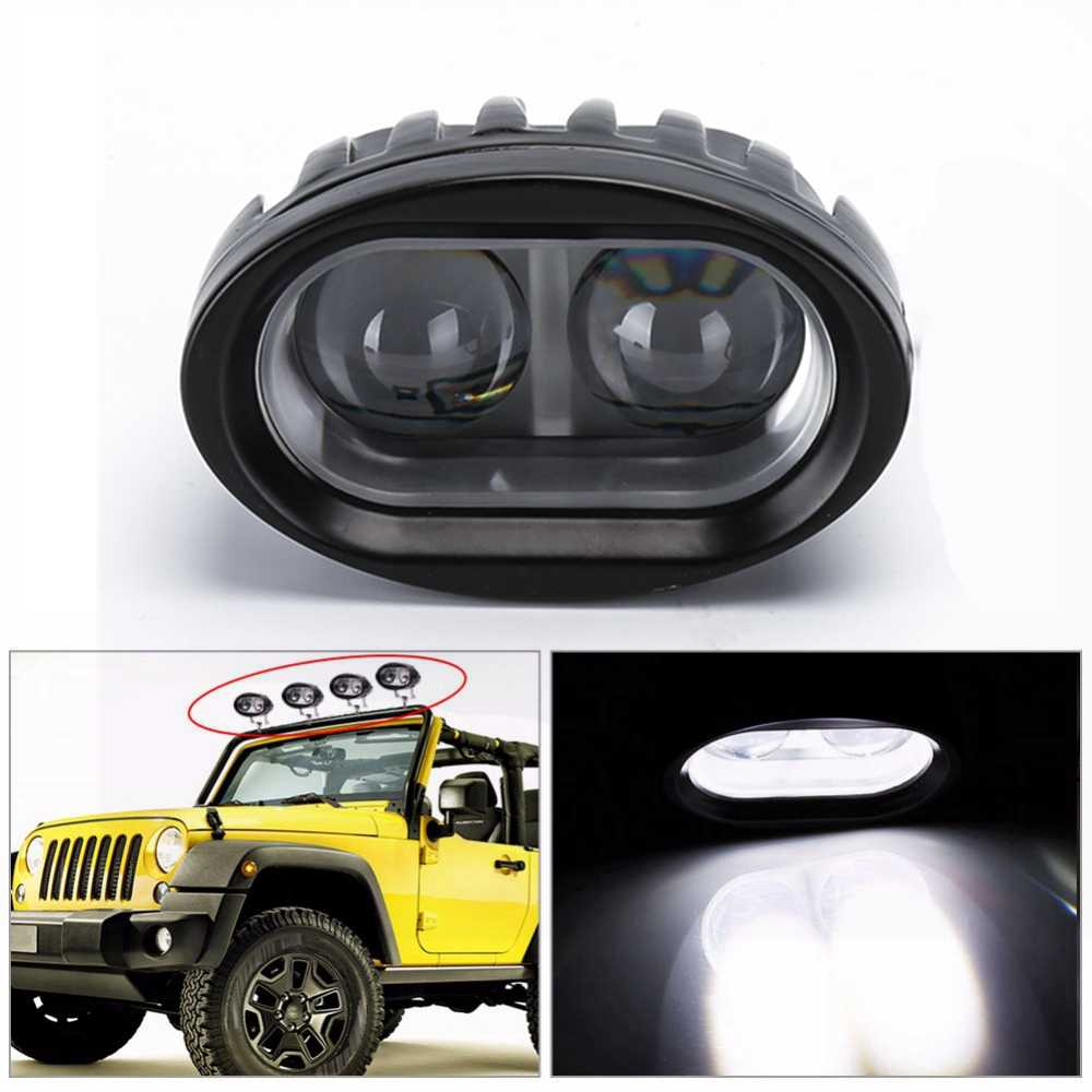 Car styling Car led Work Light Tractor Work Lights for Truck Motorcycle fog light Spot Light Lamp for Moto 20w High Power 12-80v