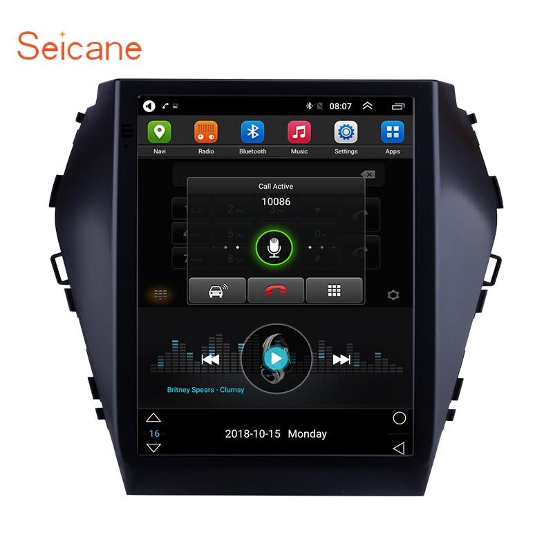 Seicane GPS For 2015 2016 2017 Hyundai Santafe IX45 9.7 inch HD Touchscreen Android 6.0 Bluetooth FM Wifi Car Multimedia PlayerSeicane GPS For 2015 2016 2017 Hyundai Santafe IX45 9.7 inch HD Touchscreen Android 6.0 Bluetooth FM Wifi Car Multimedia Player