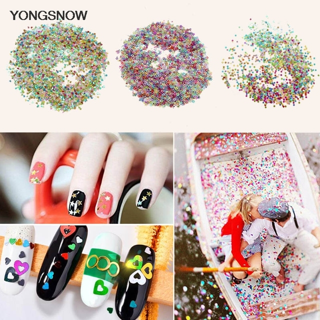 15g Mini Stars Table Confetti Sprinkles Wedding Decoration Acrylic Sequins Nail Beauty Patches Party