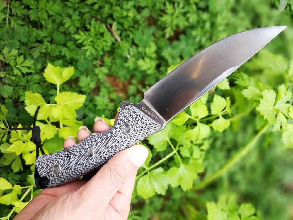 LW Seeker II font b Tactical b font font b Knife b font D2 Blade Hunting