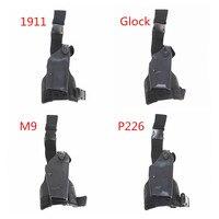 Tactical Safariland Adjustable Pistol Leg Holster Military Glock 17 1911Beretta M92 M9 P226 USP Right Hand Airsoft Gun Holster