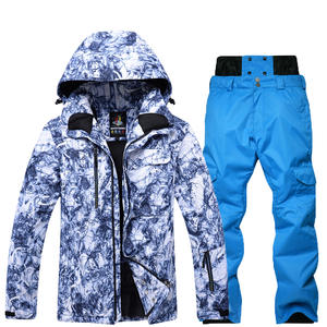 5129b4bc34a New Men Snow clothes Skiing suit sets specialty snowboarding sets  Waterproof windproof winter sports Snow jackets and pants