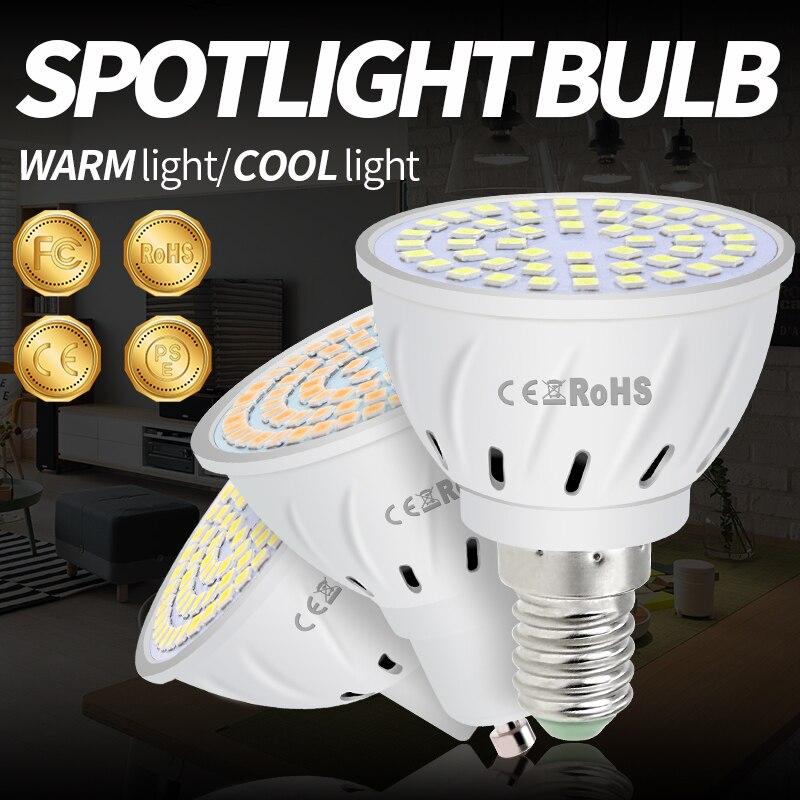 GU10 LED 220V Ampoule Led E27 Corn Light Bulb Led Lampada MR16 Bombillas Led E14 Chandelier Living Room Decoration Lamp 8W B22