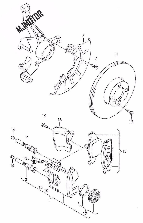 Plaquettes de frein avant set auto voiture PAD KIT-FR frein à disque pour SKODA FABIA RAPID ROOMSTER CITIGO OCTAVIA moteur part180 698 151 - 4
