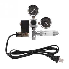 220V Aquarium CO2 Regulator Magnetic Solenoid Check Valve Bubble Counter W21.8 Water Plant Fish Tank Tool Control
