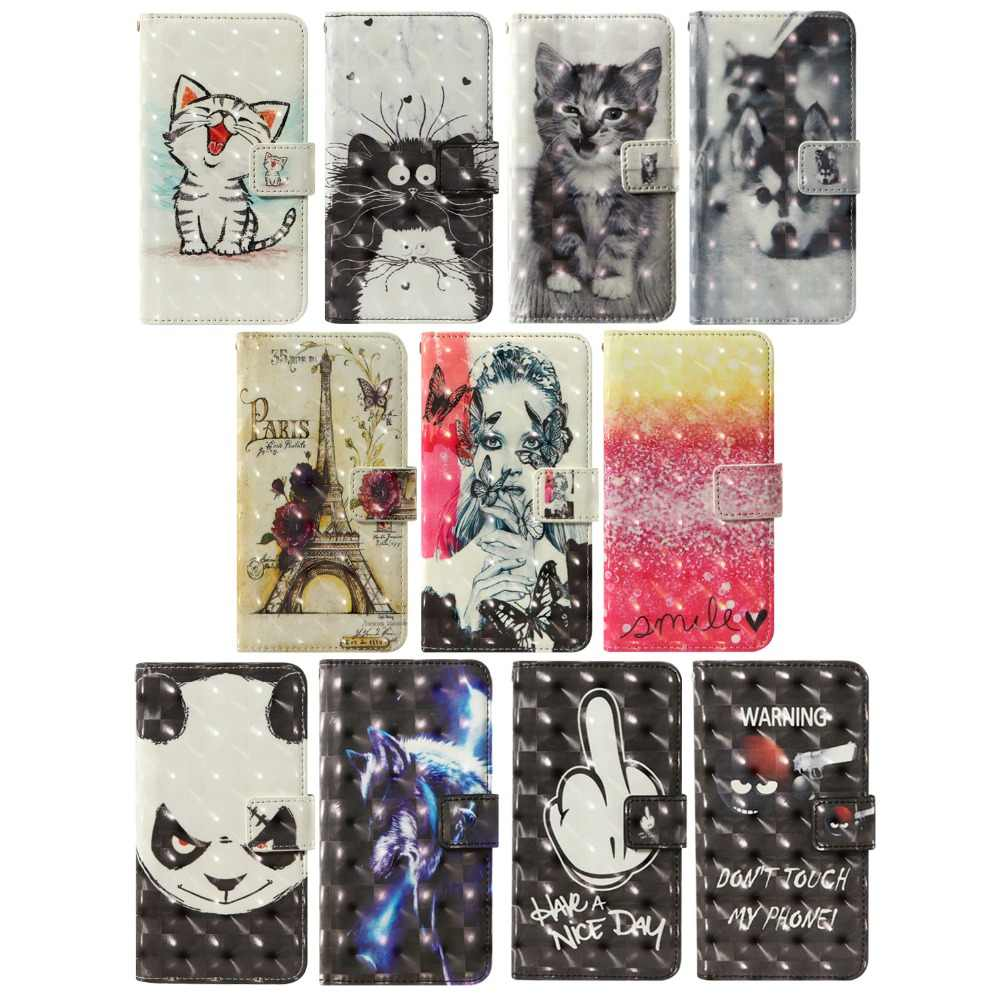 3D flip wallet Leather case For LG Phoenix 4 K40 Aristo 3 K12+ K50 K8S Tribute Empire style2 G4c X max Ray X190 G5 Phone Cases