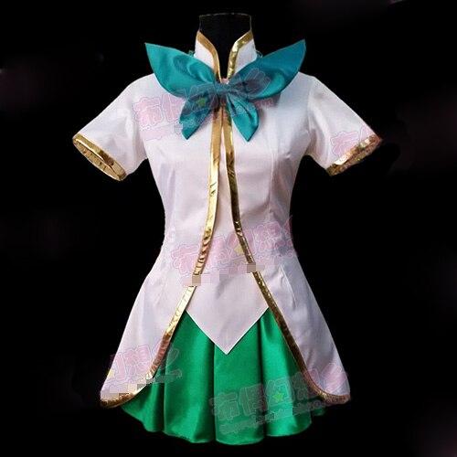 LULU magie fille taille personnalisée uniformes Costume Cosplay livraison gratuite