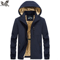 XIYOUNIAO plus size M~5XL 6XL Fur Hooded Winter Jacket men Fashion Warm Wool Liner Man Jacket and Coat Windproof Male Parkas