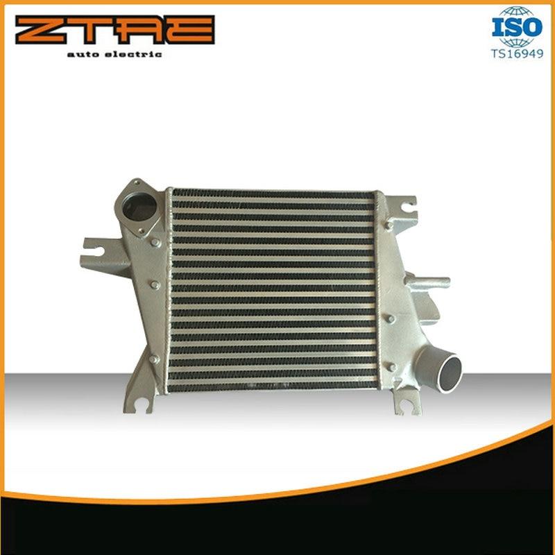 315X300X58mm Universal Turbo Intercooler fit for NISSAN X-TRAIL 2006-2007 epman silicone intercooler turbo boost hose for audi all s4 a6 2 7l bi turbo kit 98 03 12pcs ep adt004
