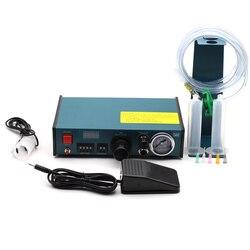 983A Профессиональный Точный Цифровой автоматический диспенсер для клея паяльная паста жидкий контроллер клей капельница жидкий диспенсер ...