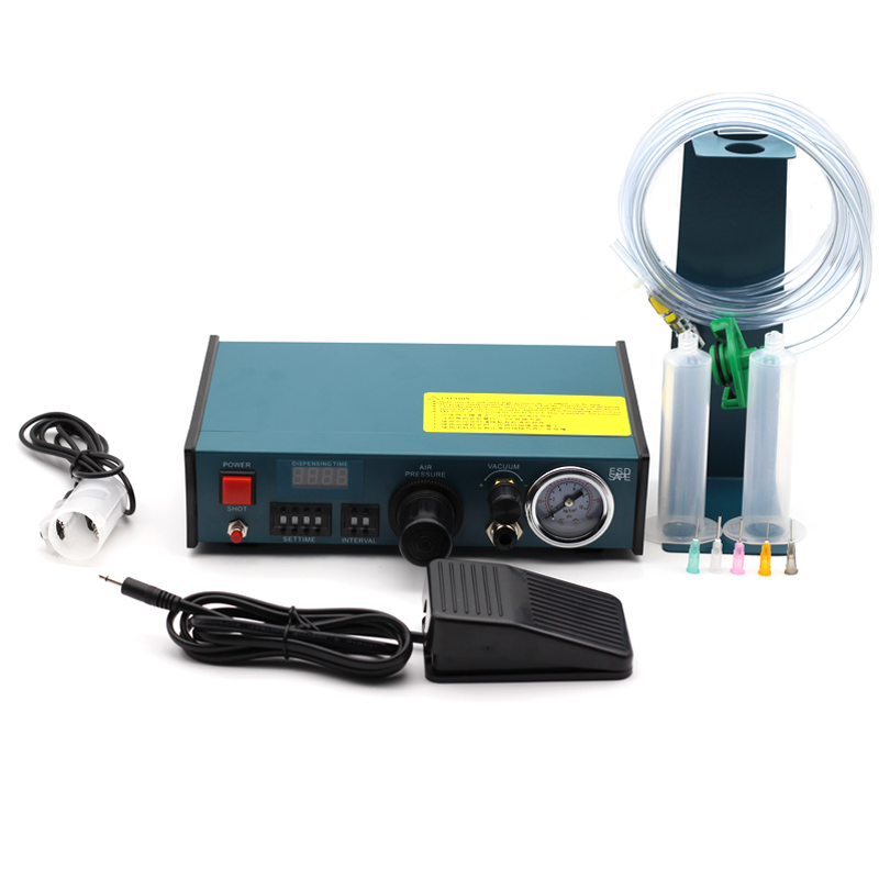 983A Professional Precise Digital Auto Glue Dispenser Solder Paste Liquid Controller Glue Dropper Fluid Dispenser Tools Machine