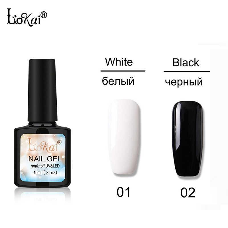 Novo 10ml gel polonês manicure semi permanente vernis base superior casaco uv led gel verniz embeber fora unha arte gel unha polonês 90 cores