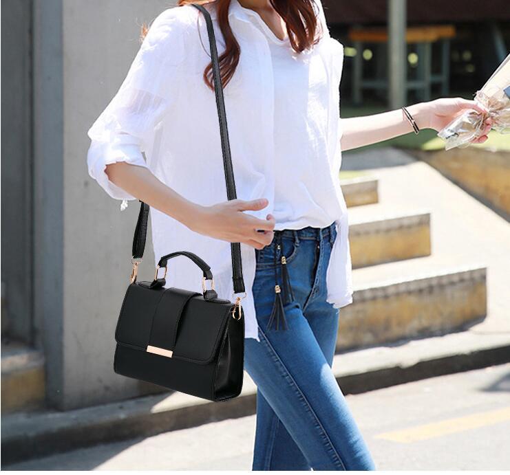 Women Bag Leather Handbags PU Shoulder Bag Small Flap Crossbody Bags for Women Messenger Bags 14