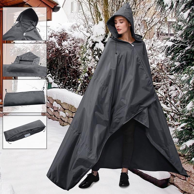 Great Outdoors Waterproof Festival Blanket with Hood