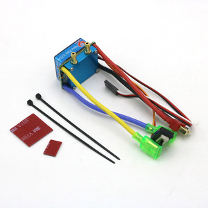 Image 3 - RC ESC 320A 480A Brushed ESC Speed Controller Dual Mode Regulator band brake 5V 3A for 1/10 RC Car Boat
