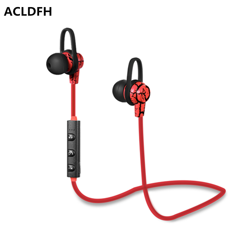 ACLDFH Wireless Earphone Bluetooth Earphones Sport Running Music Bluetooth Earbuds with mic for iPhone 4 5 6 7 Samsung xiaomi