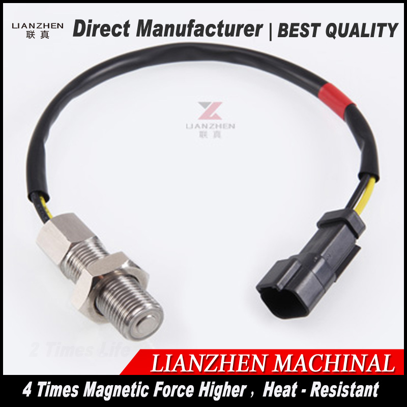 excavator speed sensor 216-8684 E320B RPM sensor 196-7973 Revolution sensor for LIANZHEN E320B E320C 125-2966 e320c 320c excavator monitor connector wire 157 3198 260 2160