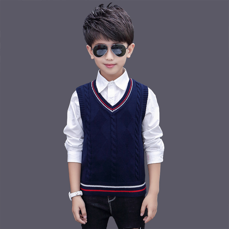 autumn and winter Waistcoat Boy's clothes Outerwear Vest children's clothing Cotton for boy Kids clothes Children's vest