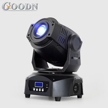 цена на Lyre Spot Moving Head LED Light 90W Gobo with 3 face prism for DJ Stage Theater Disco Nightclub