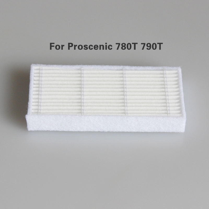 Main //Side Brush Filter Replacement Parts for Proscenic 780T 790T Vacuum Cleaner