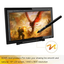 Big sale 19 inch Interactive Graphic Drawing Tablet Monitor Artists Gloves For Free