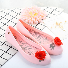 Melissa  Women Sandals Flower Children Shoes Jelly 2018 New 22.5-24.5cm