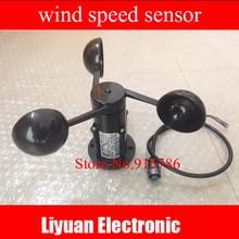 0 5 V voltaj rüzgar hızı sensörü/Voltaj çıkışı Anemometre/360 derece rüzgar hızı sensörü