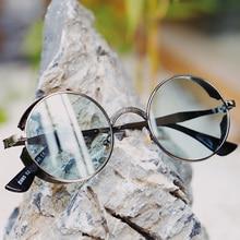 Vintage Round Steampunk Sunglasses Men Women Retro Punk Sun Glasses 2019 Fashion Brand Sunglass Black Red Shades UV400 Ouclos
