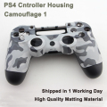 Camouflage Housing Shell for Sony PS4 Playstation 4 Wireless Controller Replacement