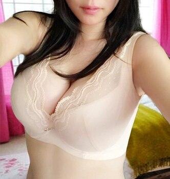 Large tolerance lace bra super big plus size large yards 3885 4095 4295 44100 46 48 E F G cup bra cotton bra for women 3203 stuffed toy