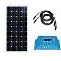 Панель солнечной батареи Китай 12v 150w Солнечный Контроллер заряда 12 v/24 v 10A PWM Кемпинг автодома караван Автомобиль RV Морской солнечный вентиля...