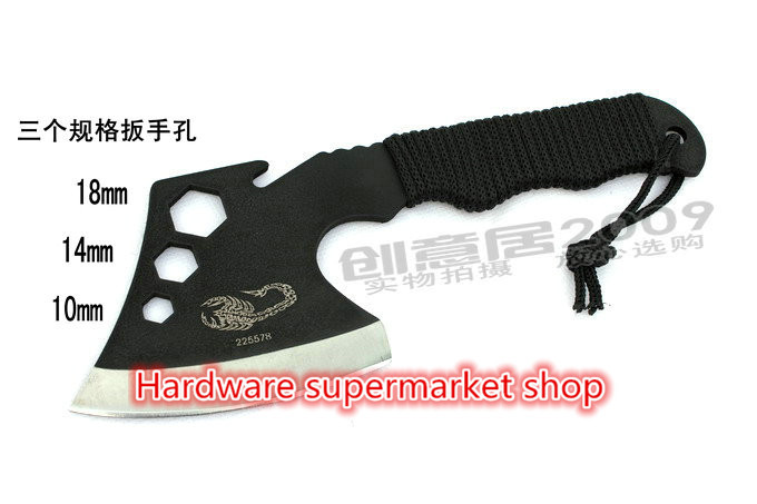 Brand new High quality Stainless Steel Portable Outdoor Survival Tools Camping font b Knife b font