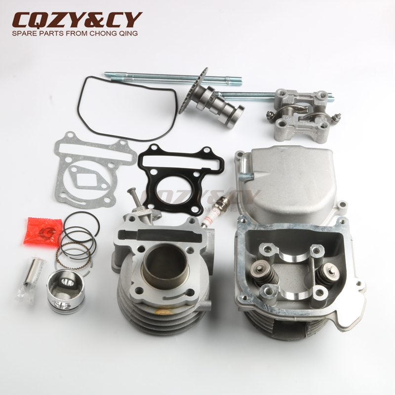 scooter 39mm cylinder kit non egr cylinder head for. Black Bedroom Furniture Sets. Home Design Ideas