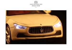 Image 5 - High Simulation Exquisite Diecasts & Toy Vehicles: Caipo Car Styling Maserati Ghibli Sports Car 1:32 Alloy Diecast Model Toy Car