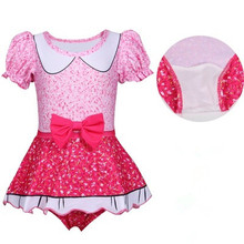 New  Baby Bikini Sets Girl Swimsuit Infant Bathing Suits Summer Girlsone Pieces Swimwear Beach dress 3 4 5 6 7 8 9 10 yrs