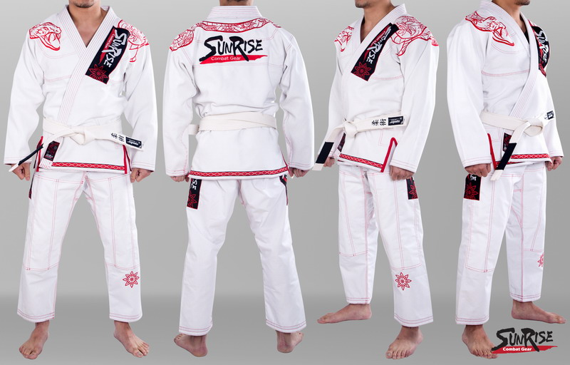 US $120 0  Free Shipping New Sunrise Brazilian Jiu Jitsu Gi BJJ Gi 100%  Preshrunk Cotton Fabric White A1 to A4 on Aliexpress com   Alibaba Group