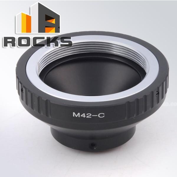 Pixco Mount Adapter R.ing Suit For M42 Mount Lens To C Mount Film Movie Bolex Video Camera