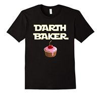 Darth Baker Clothing Tops Hipster Fashion Funny Baking Family T Shirt Cool Slim Fit Letter Printed