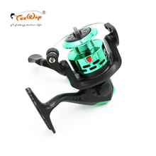 Teeway Brand TNR 200 Spinning Fishing Reels Carp Ice Fishing Gear 5.2:1 Real 3BB Spool RJ-02 without fishing rod