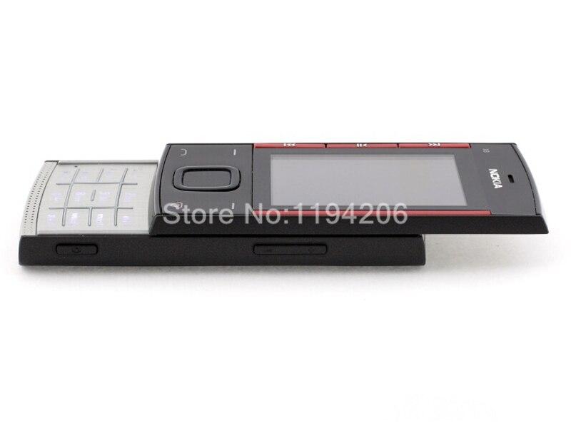 Refurbished nokia x3-00 3.2MP 2.2-inch 860mAh bluetooth camera phone red 4